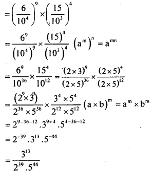 KSEEB Solutions for Class 8 Maths Chapter 10 Exponents Ex. 10.6 4