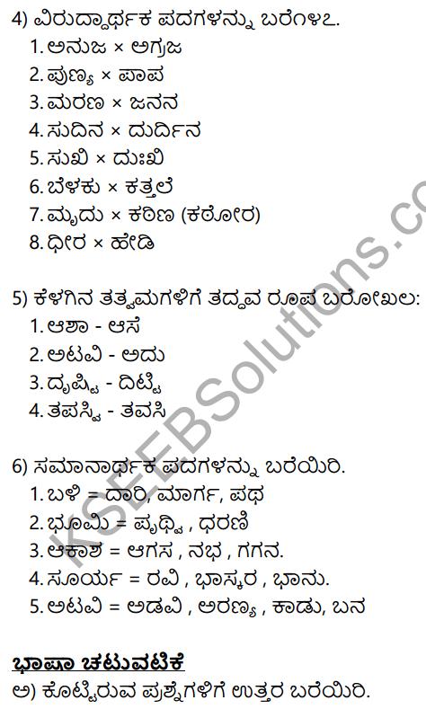 Siri Kannada Text Book Class 10 Solutions Gadya Chapter 2 Shabari 17