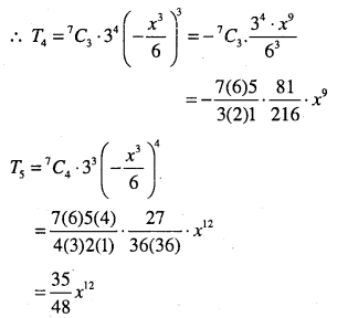 1st PUC Maths Question Bank Chapter 8 Binomial Theorem 30