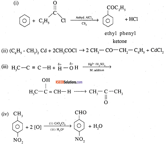 2nd PUC Chemistry Question Bank Chapter 12 Aldehydes, Ketones and Carboxylic Acids - 81