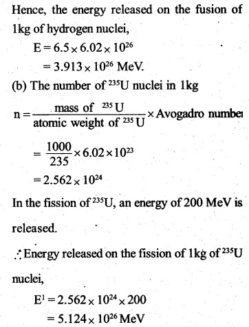 2nd PUC Physics Question Bank Chapter 13 Nuclei 52