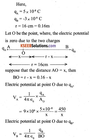 2nd PUC Physics Question Bank Chapter 2 Electrostatic Potential and Capacitance 1