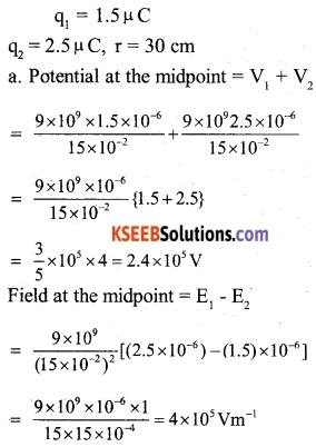 2nd PUC Physics Question Bank Chapter 2 Electrostatic Potential and Capacitance 19