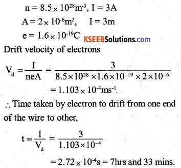 2nd PUC Physics Question Bank Chapter 3 Current Electricity 15