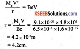2nd PUC Physics Question Bank Chapter 4 Moving Charges and Magnetism 9