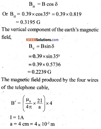 2nd PUC Physics Question Bank Chapter 5 Magnetism and Matter 18