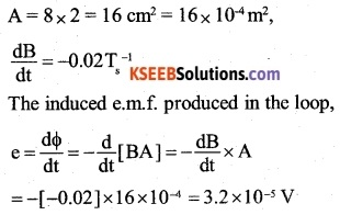 2nd PUC Physics Question Bank Chapter 6 Electromagnetic Induction 10