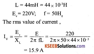 2nd PUC Physics Question Bank Chapter 7 Alternating Current 3