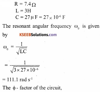 2nd PUC Physics Question Bank Chapter 7 Alternating Current 33