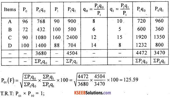 2nd PUC Statistics previous year Question paper March 2016 - 36