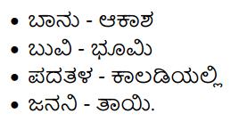Hosa Haadu Summary in Kannada 6