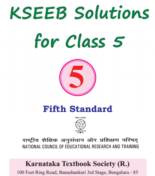 KSEEB Solutions for Class 5 Karnataka State Syllabus