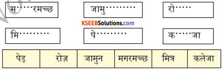 KSEEB Solutions for Class 6 Hindi Chapter 21 चतुर बंदर 1