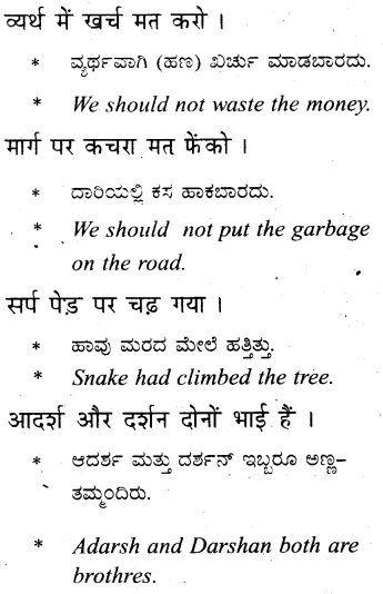 KSEEB Solutions for Class 6 Hindi Chapter 5 'र' की मात्राएँ रेफपदेन 5
