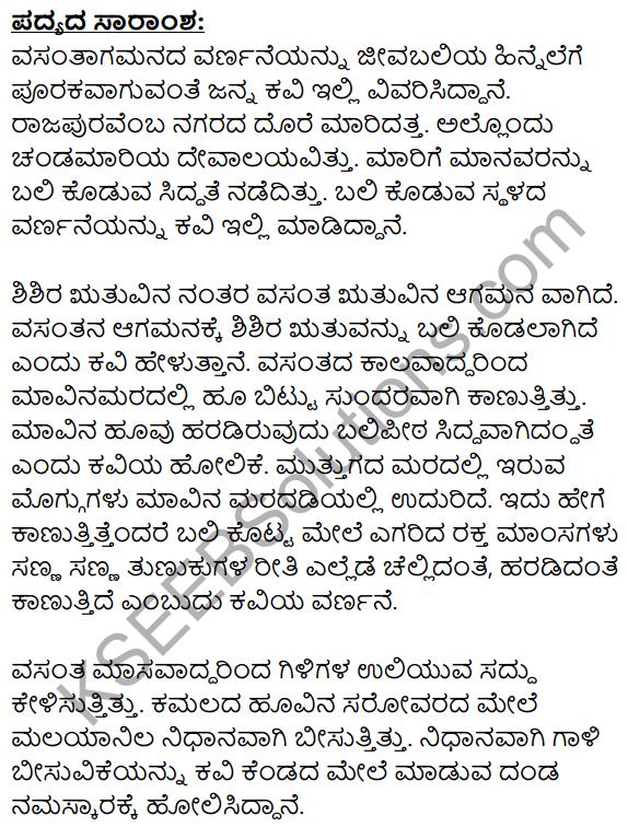 Niyatiyanar Miridapar Summary in Kannada 1