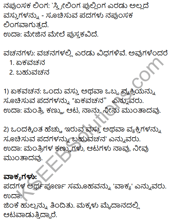 Siri Kannada Text Book Class 8 Solutions Gadya Chapter 6 Yashodhare 10