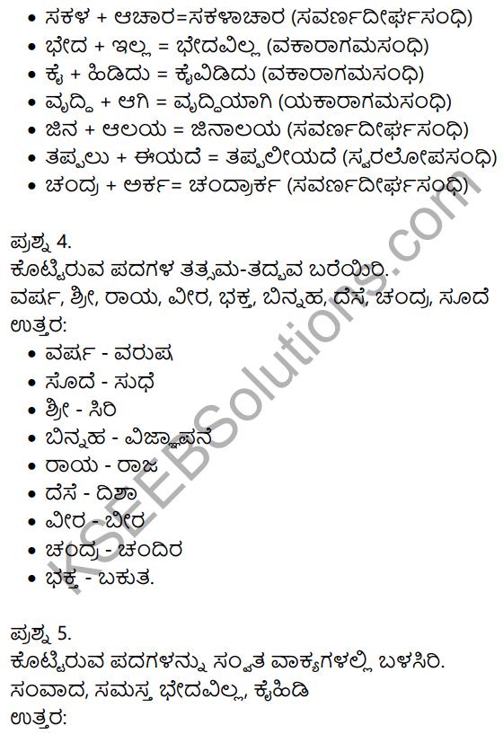 Siri Kannada Text Book Class 9 Solutions Gadya Chapter 3 Dharma Samadrusti 10