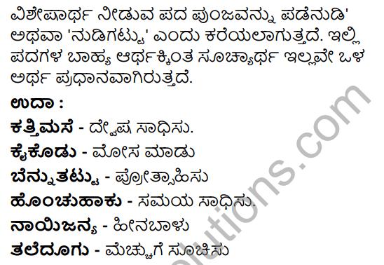 Tili Kannada Text Book Class 8 Saiddhantika Vyakarana Dvirukti - Jodi Nudi Nudigattugalu 3
