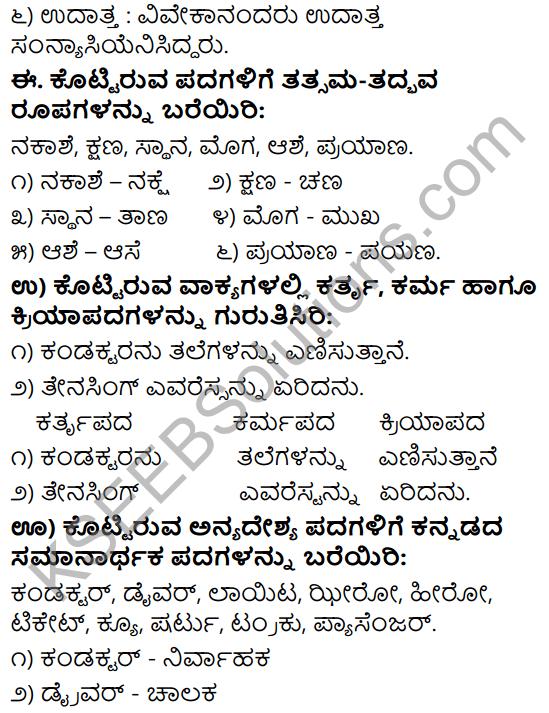 Tili Kannada Text Book Class 9 Solutions Gadya Chapter 4 Bassu Prayanada Sukhaduhkhagalu 15