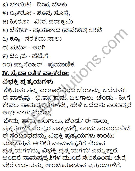 Tili Kannada Text Book Class 9 Solutions Gadya Chapter 4 Bassu Prayanada Sukhaduhkhagalu 16