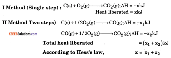 1st PUC Chemistry Model Question Paper 5 with Answers 4