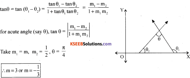 1st PUC Maths Model Question Paper 1 with Answers - 26
