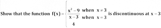 2nd PUC Basic Maths Question Bank Chapter 17 Limit and Continuity of a Function Ex 17.5 - 3