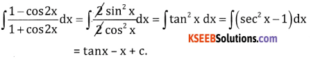 2nd PUC Basic Maths Question Bank Chapter 20 Indefinite Integrals Ex 20.1 - 6