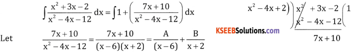 2nd PUC Basic Maths Question Bank Chapter 20 Indefinite Integrals Ex 20.5 - 6