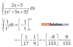 2nd PUC Basic Maths Question Bank Chapter 21 Definite Integral and its Applications to Areas Ex 21.1 - 4