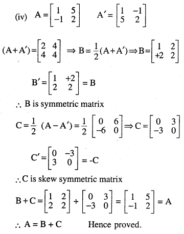 2nd PUC Maths Question Bank Chapter 3 Matrices Ex 3.3 17