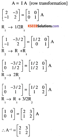 2nd PUC Maths Question Bank Chapter 3 Matrices Ex 3.4 17