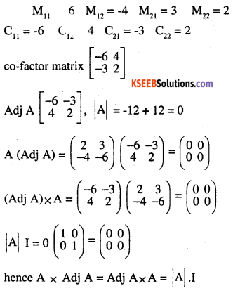2nd PUC Maths Question Bank Chapter 4 Determinants Ex 4.5.3