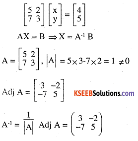 2nd PUC Maths Question Bank Chapter 4 Determinants Ex 4.6.10