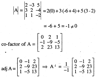 2nd PUC Maths Question Bank Chapter 4 Determinants Ex 4.6.23