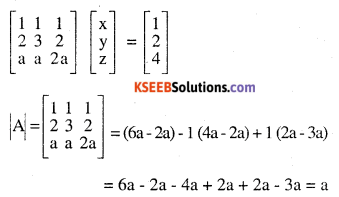 2nd PUC Maths Question Bank Chapter 4 Determinants Ex 4.6.5