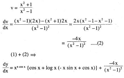 2nd PUC Maths Question Bank Chapter 5 Continuity and Differentiability Ex 5.5.15