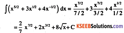 2nd PUC Maths Question Bank Chapter 7 Integrals Ex 7.1.12