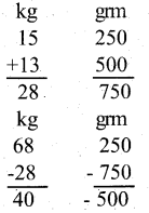 KSEEB Solutions for Class 5 Maths Chapter 6 Weight and Volume 14
