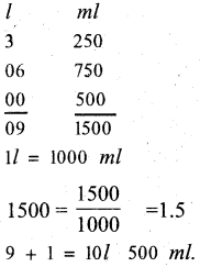 KSEEB Solutions for Class 5 Maths Chapter 6 Weight and Volume 20