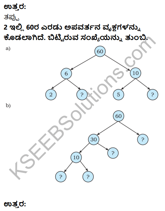 KSEEB Solutions for Class 6 Maths Chapter 3 Sankhyegalondige Ata Ex 3.5 3