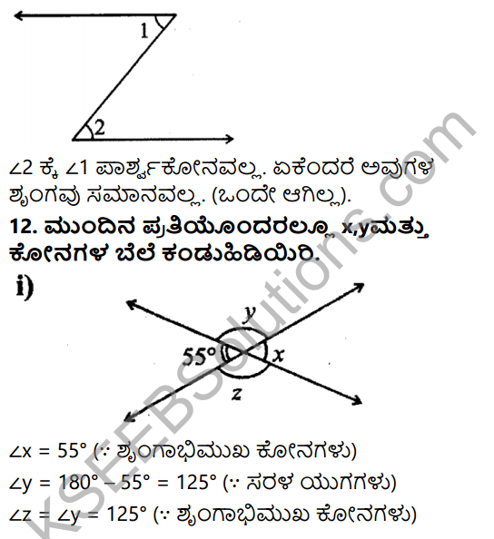 KSEEB Solutions for Class 7 Maths Chapter 5 Rekhegalu Mattu Konagalu Ex 5.1 10