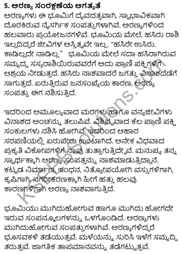Nudi Kannada Text Book Class 10 Rachana Bhaga Prabandha Lekhana 8