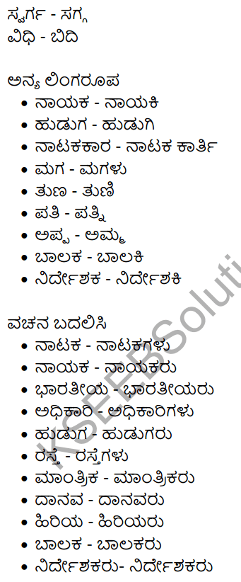 Nudi Kannada Text Book Class 10 Solutions Chapter 9 Karnatakada Veera Vanitheyaru 17