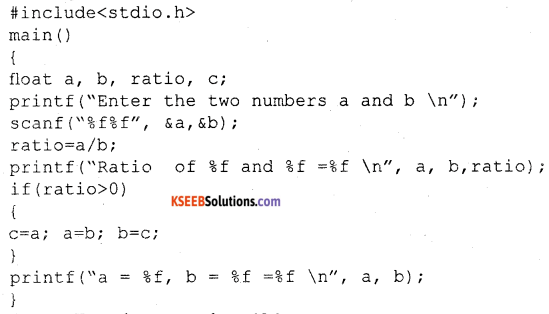2nd PUC Electronics Question Bank Chapter 12 C Programming 21