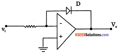2nd PUC Electronics Question Bank Chapter 5 Operational Amplifiers(OP-Amp) 11
