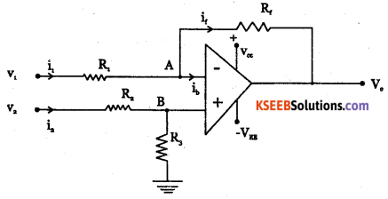 2nd PUC Electronics Question Bank Chapter 5 Operational Amplifiers(OP-Amp) 23
