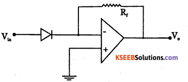 2nd PUC Electronics Question Bank Chapter 5 Operational Amplifiers(OP-Amp) 29