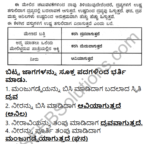 KSEEB Solutions for Class 5 EVS Chapter 11 Nature of Matter in Kannada 11
