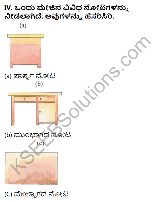 KSEEB Solutions for Class 5 Maths Chapter 9 Three Dimensional Figures in Kannada 3
